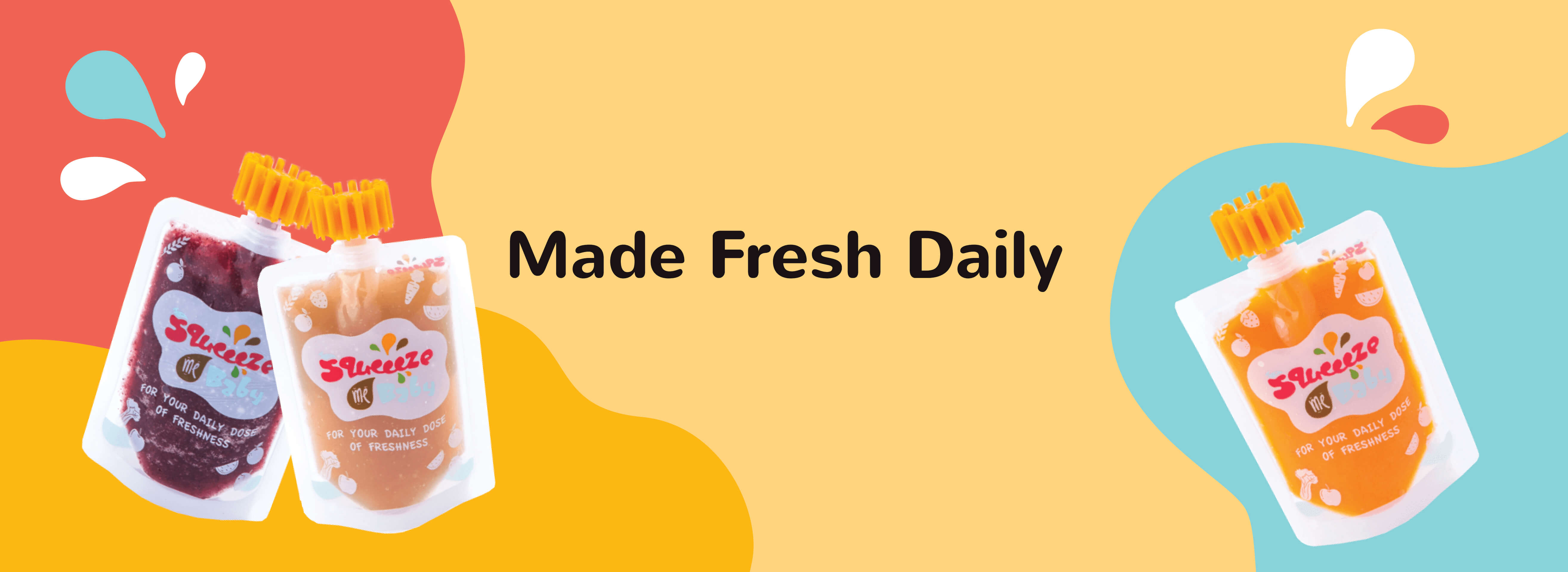 Squeeeze Me Baby - Healthy Baby Food Malaysia | Made Fresh Daily